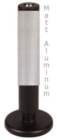 "SEDONA 4"", Style 6, w/steel plate, **Matte Aluminum**"