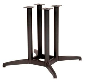 "4-Column  X Base, 2 1/4"" dia, 27 3/4"" height, 38""x38"" base spread,  BLACK  (non refundable)"
