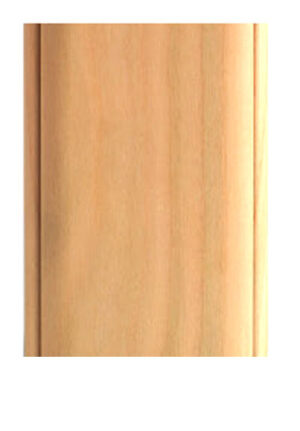 "QUADRA, 3"" Square Legs, Real Wood  **Raw MAPLE **"