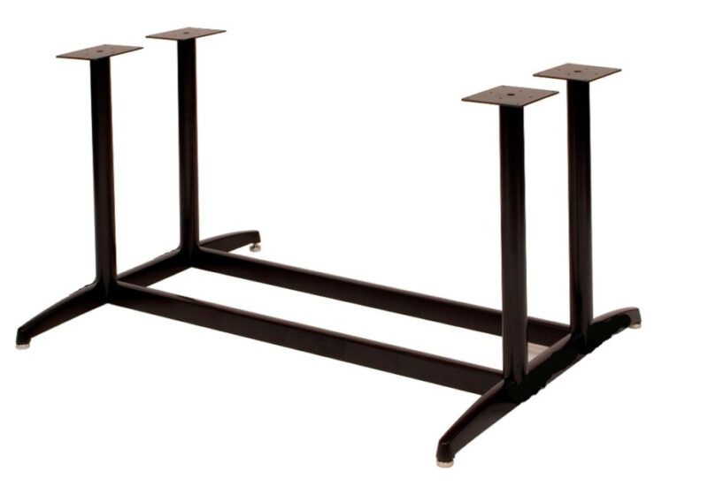 "SUPER LARGE 4-Column Base, 34"" height, 34""x34"" base spread,  BLACK  (non refundable)"