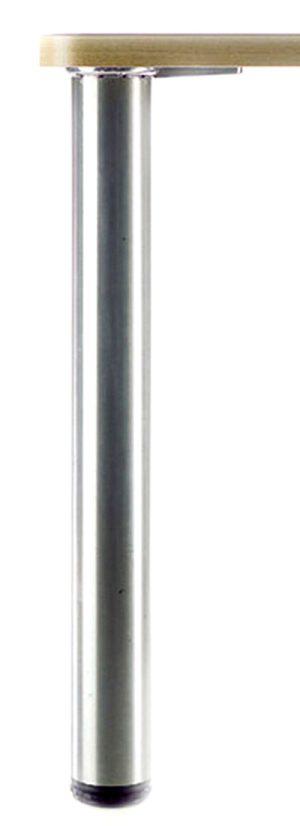 "ROME Steel Table Legs, 2 3/8"" Round, set of 4 legs"