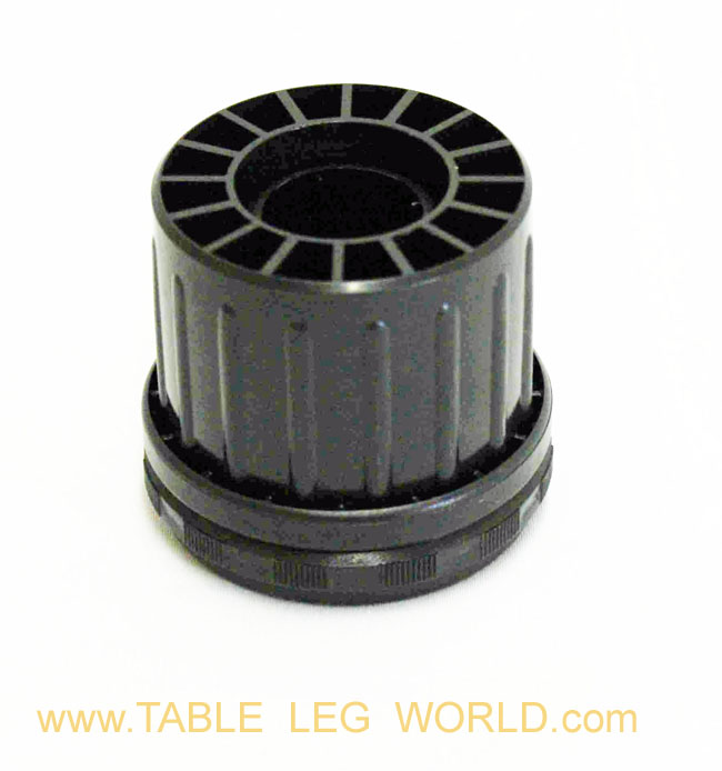 "Como 2"" Round Steel Leg, 6"" Height"