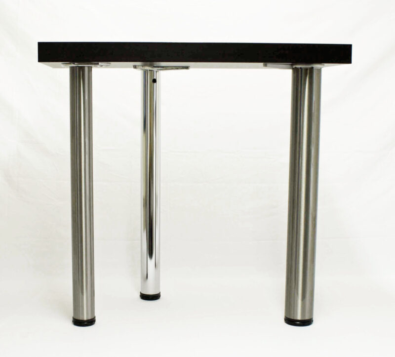 "ROME Steel Table Legs, 2 3/8"" Round, set of 4 legs"
