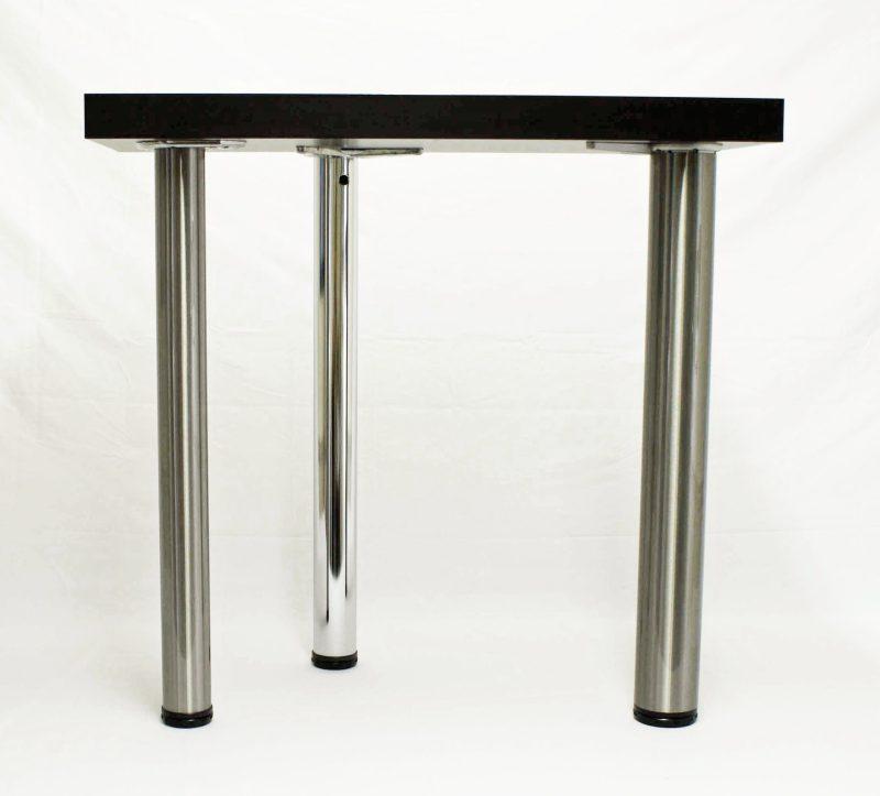"VALUE Steel Table Legs, 2 3/8"" Round, 27 3/4"" Height, set of 4"
