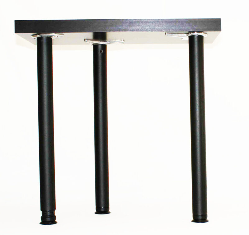 "MILANO 4"" Adjustment Legs, 2 3/8"" Round, 27 3/4"" Height, Set of 4"