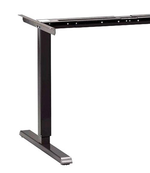 "TALL 1009 Manual Desk Frame, 27"" to 47"" Height,  **BLACK**"