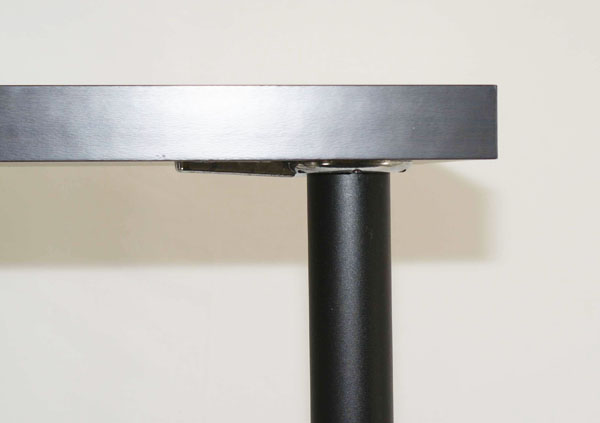 "VENICE Metal Leg, 43"" Height, 2 3/8"" Diameter, SINGLE LEG"