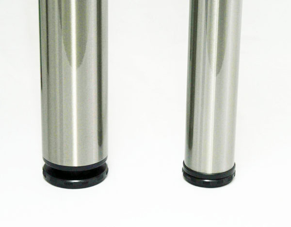 "VENICE Metal Leg, 43"" Height, 2 3/8"" Diameter, SINGLE LEG"