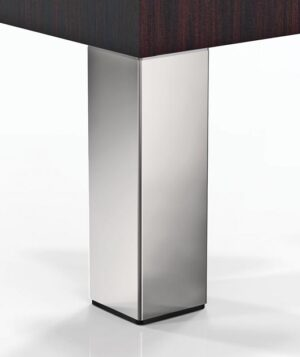 "Cerano, 2"" Square Steel Leg, 4"" Height, set of 4"