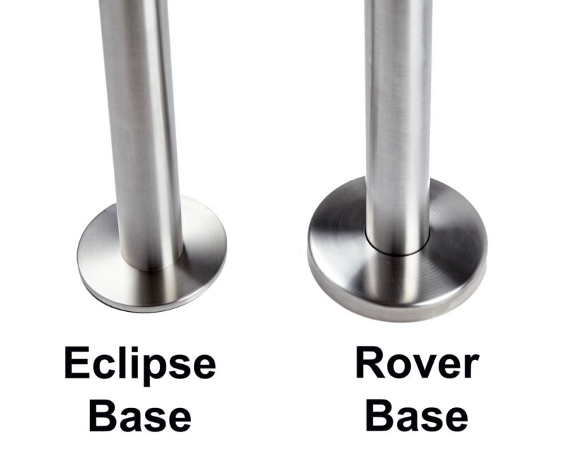 ECLIPSE Bolt Down Leg, Stainless Steel Base