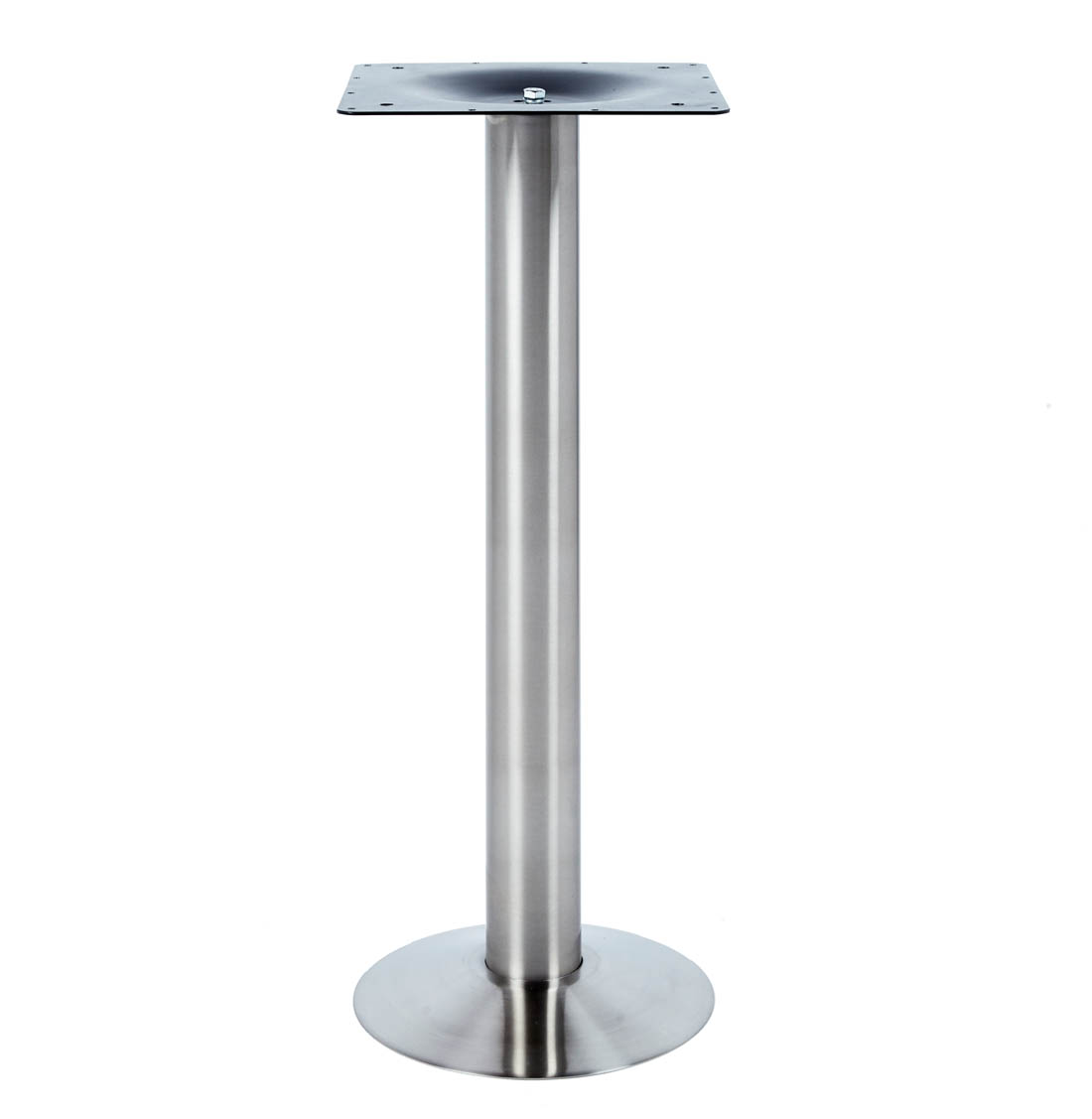 ROSWELL Floor Bolt Down Leg, Stainless Steel, Heavy Duty Welded Base, Large Top Plate