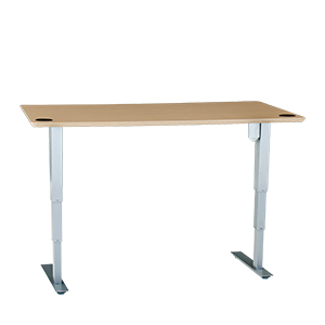 "501-37 Desk Frame, low 21"" to 47"" height adjustment,  220 lbs lift, no bar"