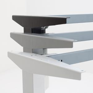 """501-37 Desk Frame, low 21"""" to 47"""" height adjustment,  220 lbs lift, no bar"""