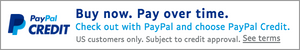 Pay now or pay over time with PayPal Credit