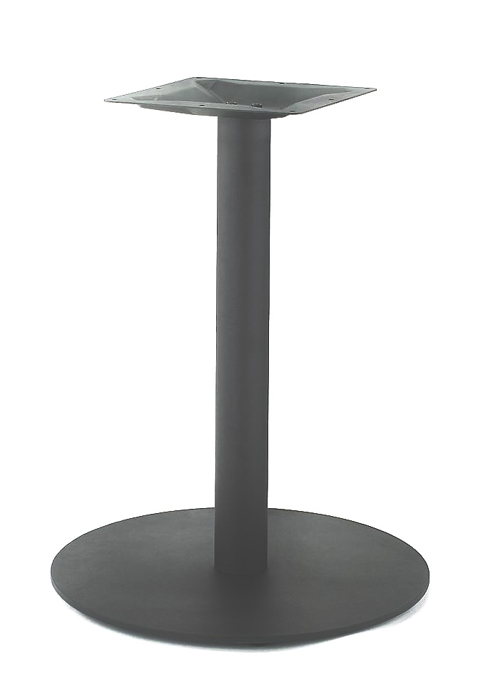 21″ Round Table Base, Stainless Steel Finish, up to 32″ Tops